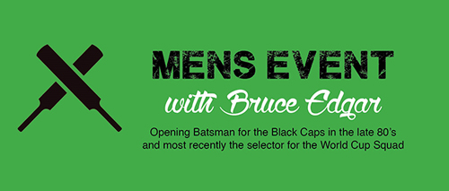 Mens Event with Bruce Edgar
