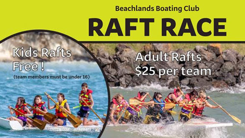 Raft Race Beachlands Boating Club