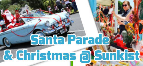 Annual Santa Parade and Christmas@Sunkist